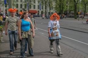 Koninginnedag 2005 Den Haag (17 van 21)