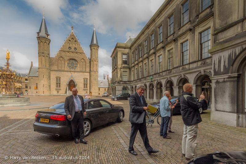 Binnenhof - Ivo Opstelten minister van Veiligheid en Justitie20159
