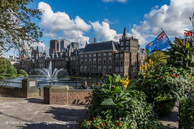 Binnenhof -hofvijver