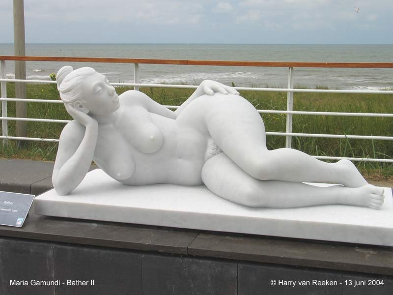 Maria Gamundi - Bather II