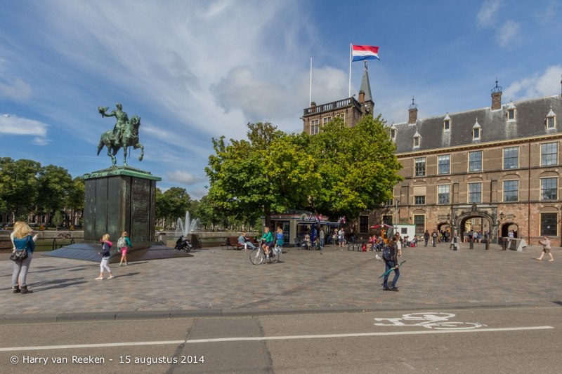 Buitenhof - Koning Willem Monument 20166