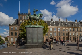 Buitenhof - Monument Koning-Willem II 20894