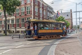 Buitenhof - oude trams 20052