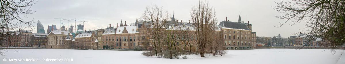 Hofvijver Binnenhof-winter-1