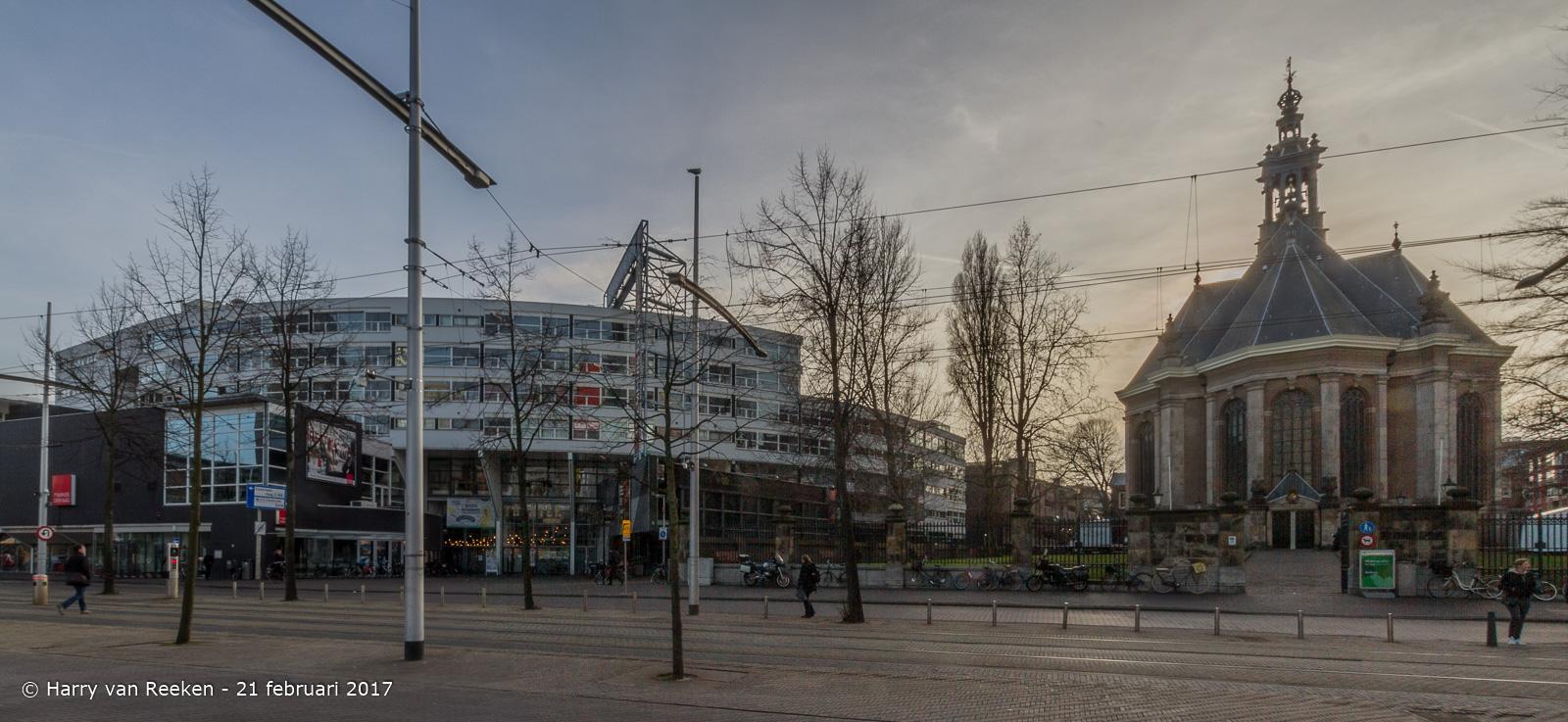 Spui-Nieuwe Kerk-theater aan het spui-1-HDR