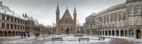 Binnenhof-winter