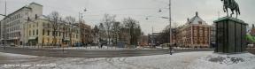 Buitenhof-winter
