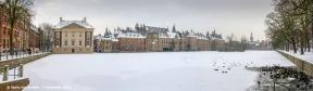 Hofvijver Binnenhof-winter-2