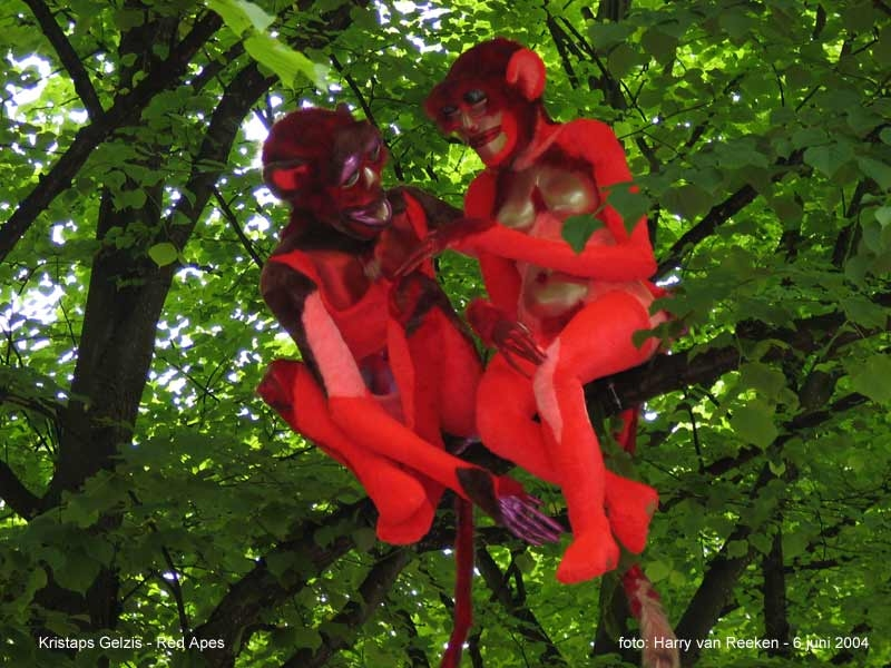 Kristaps Gelzis - Red Apes -1