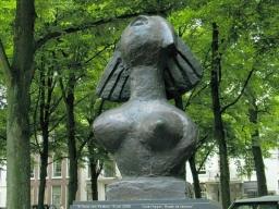 Karel Appel - Buste de Femme -1