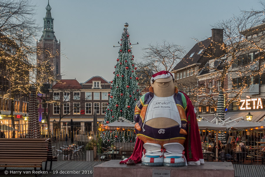 20161219 Grote Markt - Haagse Harry-1