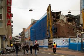 20111026 Grote Marktstraat-sloop voor Passage