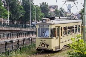 Oude_trams_-_Koninginnegracht