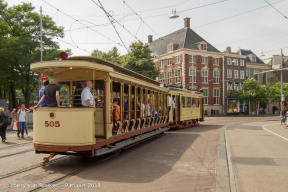 Hofweg - Buitenhof - Oude trams -20140714-01