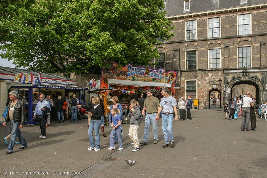 Koninginnedag 2005 Den Haag (20 van 21)