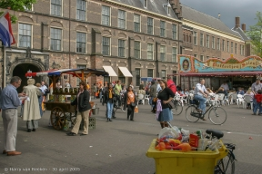 Koninginnedag 2005 Den Haag (18 van 21)
