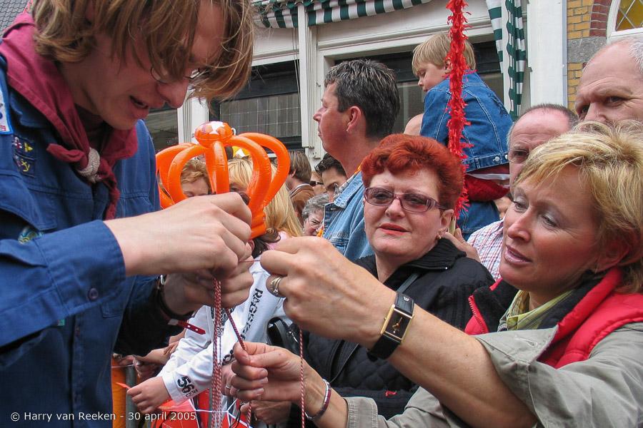 Koninginnedag 2005 Scheveningen (4 van 59)