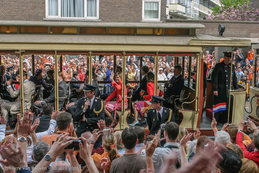 Koninginnedag 2005 Scheveningen (55 van 59)
