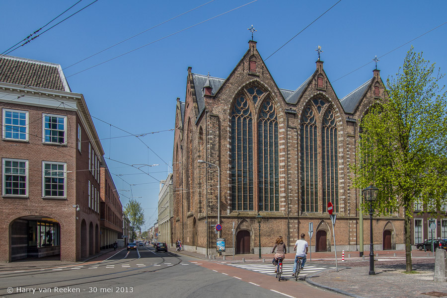 Lange Voorhout-Parkstraat - Kloosterkerk-30052013