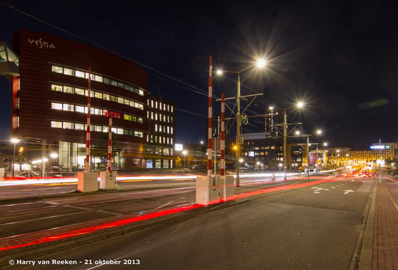 Leeghwaterplein - Vestia - avond opname