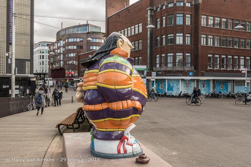 Den Haag - Grote Markt - Haagse Harry-5