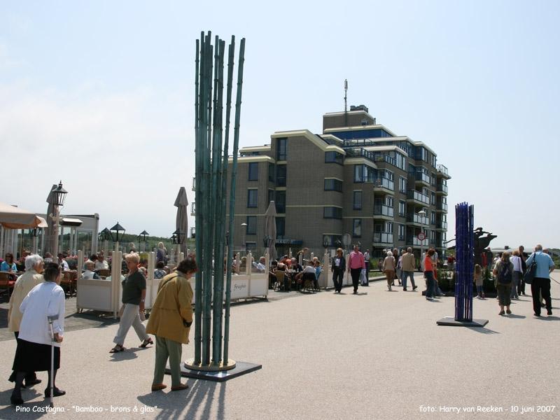 Pino Castagna - Bamboo - Brons & Glas -1