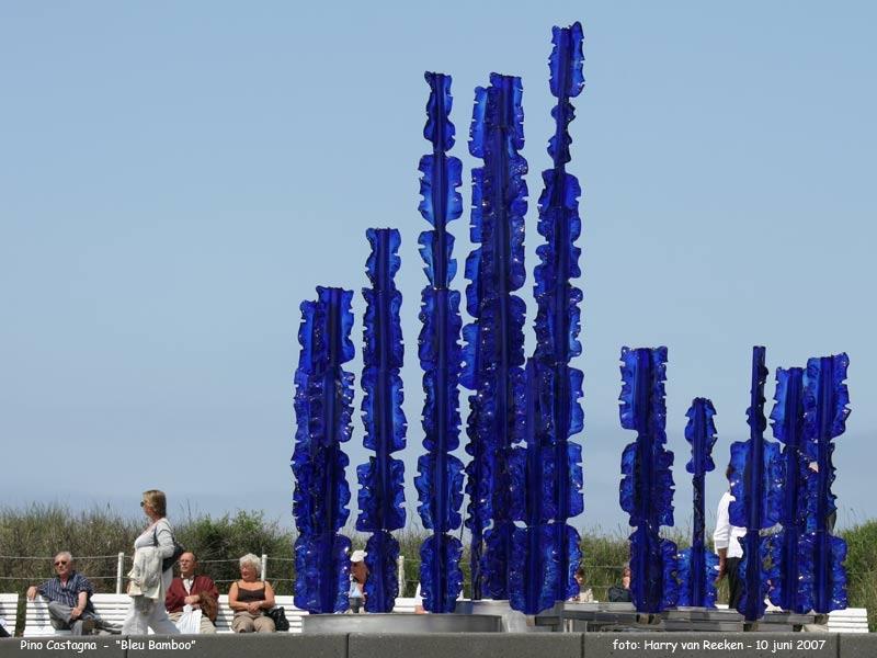 Pino Castagna - Blue Bamboo