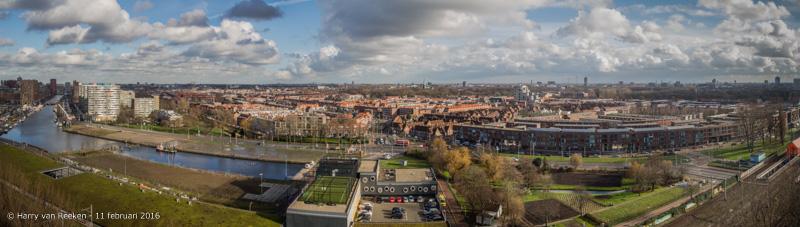 Spoorwijk - Laakkwartier panorama