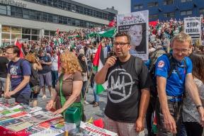Spuiplein - pro-Palestijnse demonstratie-1