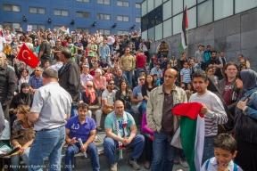 Spuiplein - pro-Palestijnse demonstratie-3