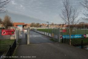 Jan van Beersstraat, voetbalveld HVV Laakkwartier