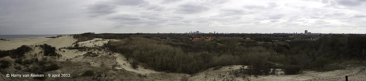 Westduinpark-panorama