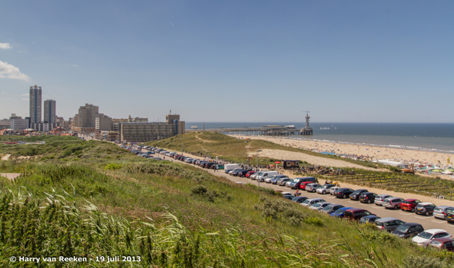 Zwarte Pad - strand en pier